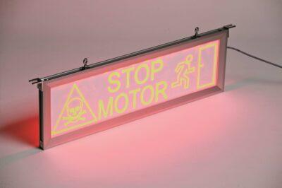 LED Warning Sign WT